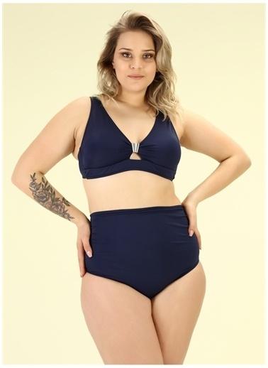 Bellisa Bellisa Lacivert Bikini Takım Lacivert